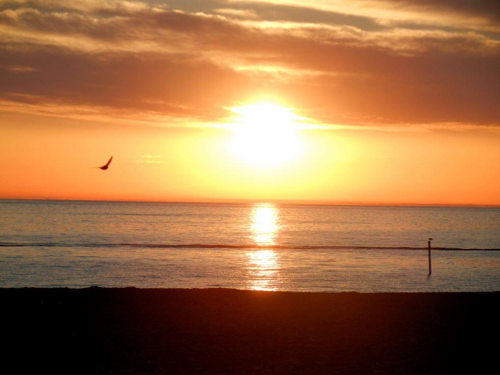 Sunset from Megan